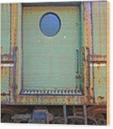 Trainyard 9 Wood Print