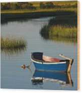 Tranquil Cape Cod Photography Wood Print by Juergen Roth