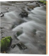 Tranquil Shores Wood Print