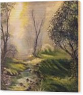 Tranquil Spring  Wood Print