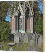 Tranquil Tomb Wood Print