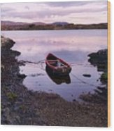 Tranquility In County Galway Wood Print