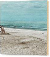 Tranquility On Tybee Island Wood Print