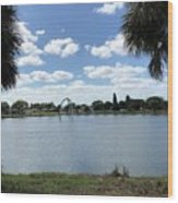 Tranquility - Port Richey, Florida Wood Print