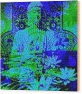 Tranquility Zen Wood Print