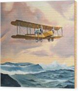 Transatlantic Wood Print