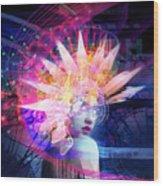 Transcendance Wood Print
