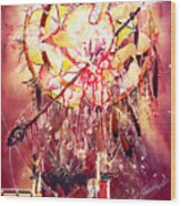 Transcending Indian Spirit Wood Print