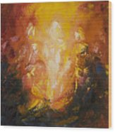 Transfiguration Wood Print