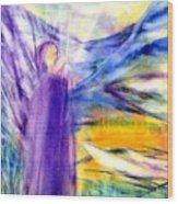 Transformational Peace Wood Print