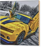 Transformers Bumble Bee 2 Wood Print