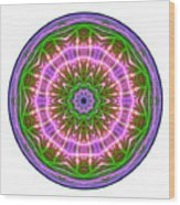 Transition Fcircle Wood Print
