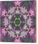 Transition Flower 6 Beats 4 Wood Print