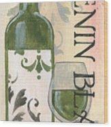 Transitional Wine Chenin Blanc Wood Print