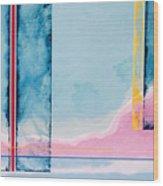 Transitory Veils Wood Print