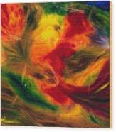 Transparence De La Vie Wood Print