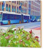 Transportation In New York 4 Wood Print