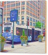Transportation In New York 6 Wood Print