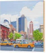 Transportation In New York 8 Wood Print