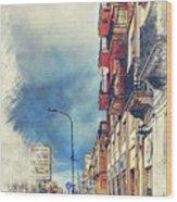 Trapani Art 20 Sicily Wood Print