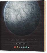 Trappist-1h Wood Print