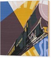 Travel South For Winter Sunshine Wood Print