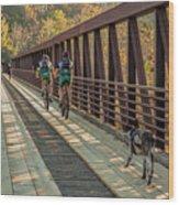 Travel The Buttermilk Trail Wood Print
