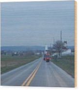 Traveling Home After Easter Monday Gatherings Wood Print