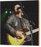 Travis Tritt Country Music Singer Wood Print