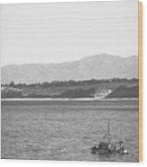 Trawling Monterey Wood Print