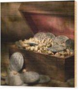 Treasure Chest Wood Print by Tom Mc Nemar