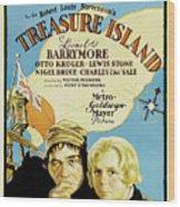 Treasure Island 1934 Wood Print