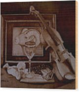 Treasures Wood Print
