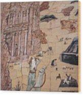 Treasury Mosaic Wood Print