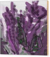 Treat Me To Lavender Wood Print