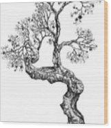 Tree 14 Wood Print