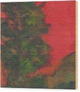 Tree 2 Wood Print