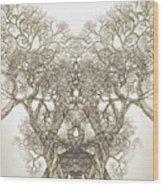 Tree 20 Hybrid 1 Wood Print