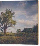 Tree 23 Wood Print