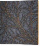 Tree Again Wood Print