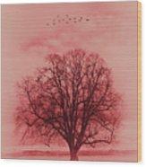 Tree Art 01 Wood Print