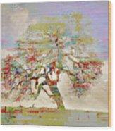 Tree Art 54tr Wood Print