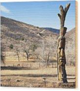 Tree Art Wood Print