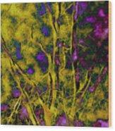 Tree Glow Wood Print