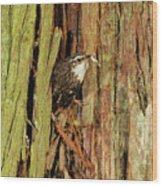 Tree Home Wood Print