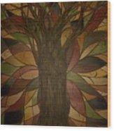 Tree Huggers Wood Print