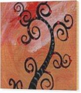 Tree IIi Wr Wood Print