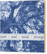 Tree In Your Heart Wood Print