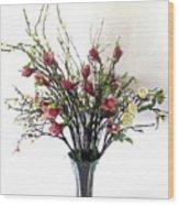 Tree Magnolias Wood Print