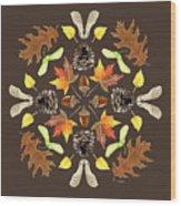 Tree Mandala 1 - Watercolor Wood Print